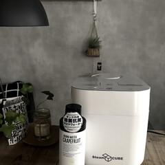山善 スチーム式加湿器 タンク容量2.8L ホワイト KSF-K281(加湿器)を使ったクチコミ「乾燥しがちな冬。 風邪予防にもお肌にも加…」