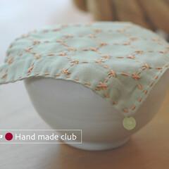刺し子/小鉢/和 和の小鉢のカバーも刺し子で。小鉢は磁器で…