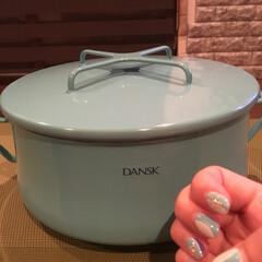 ネイル/DANSK/キッチン雑貨 一目惚れしたお鍋☆ 23cm! さて、何…(1枚目)