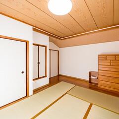 和室/リフォーム/押入れ/襖/畳/収納/... 押入れの襖・畳を新調、収納の襖・壁と天井…
