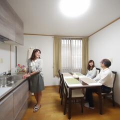 キッチンリフォーム/内装リフォーム 木の素材感がおしゃれなキッチン 高砂市M…