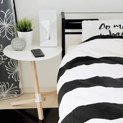 STAND!STEEL ティッシュホルダー | デュエンデ(ティッシュケース)を使ったクチコミ「寝室で愛用しているのはduende のサ…」