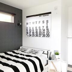デュエンデ DUENDE ホワイト | デュエンデ(サイドテーブル)を使ったクチコミ「寝室を夏仕様にしました✨ 掛け布団を夏物…」