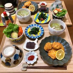 チキンナゲット/和食ご飯/おうちごはん/ふたりごはん/セリア/100均/... チキンナゲット。 外で食べるチキンナゲッ…