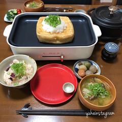 ブルーノ/グルメ/フード/おうちごはん/家具/キッチン雑貨 おはようございます☺︎ 福井の谷口屋の厚…