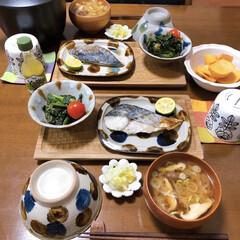 和食ご飯/ふたりごはん/おうちごはん/セリア/100均/フォロー大歓迎 さわらの塩焼き。 煮付けよりシンプルな塩…