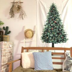 クリスマスツリー/オーナメント/チェック柄/楽天/クリスマス雑貨/クリスマス/... *2019.12.7* こんばんは(*´…