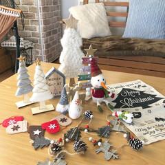 プチプラ/クリスマス雑貨/クリスマスツリー/クリスマス/クリスマス2019/ダイソー/... *2019.12.5* こんばんは(*´…