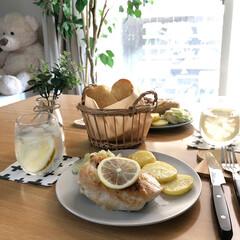 カフェごはん/カフェ風/oisix/お昼ごはん/おうちごはん/ランチ/... *2020.9.10* こんにちは(*´…(1枚目)
