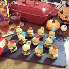おやつ作り/クッキング/ハンバーガー/たこ焼き器/BRUNO/ハロウィンパーティー/... 👻Happy Halloween🎃 もう…