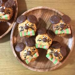 ケーキ/ねずみ/バナナケーキ/カップケーキ/お菓子作り/友チョコ/... *2019.2.12* こんにちは(*´…