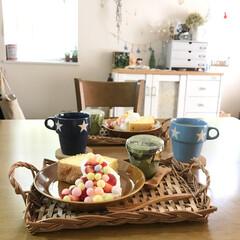 手作りケーキ/シフォンケーキ/キャンドゥ/カフェ風/おうちカフェ/スイーツ/... おうちカフェ⋆*❁ シフォンケーキを焼き…