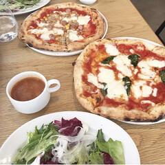 イタリアン/ランチ/マルゲリータ/窯焼きピザ/おしゃれカフェ/カフェ/... *2019.5.27* こんばんは(*´…(1枚目)