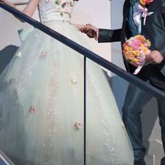 ウェディング/ティンカーベル/結婚式/ディズニー/令和元年フォト投稿キャンペーン/令和の一枚/... この前の結婚式の写真です。 ティンカーベ…(1枚目)