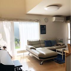 北海道/ピアノのある暮らし/ニトリインテリア/エアコンなし/リビング/インテリア 今日は午前中までエアコンを稼働せず頑張り…