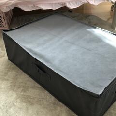 ダイソー/ダイソー収納/ダイソー400円/100均/収納片付け/ダイソーベッド下収納ボックス/... ブログ更新。 ベッド下を有効に使うダイソ…