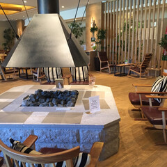 万世閣/ミリオーネ/温泉/暖炉/北欧インテリア/定山渓温泉/... 定山渓温泉ミリオーネの館内です。 家具や…