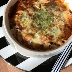 おうちランチ/お昼ごはん/ミートドリア/ダイエット/フォロー大歓迎/わたしのごはん/... 今日のお昼ごはんはミートドリア。 もうめ…(2枚目)