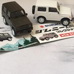 ジムニー欲しい/ガチャガチャ/ジムニーコレクション/ジムニーSJ30/ジムニー/フォロー大歓迎 北海道の冬は雪道にも負けないジムニーがい…