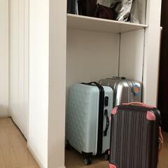 暮らし/寝室収納/収納片付け/インテリア/住まい/収納 寝室の収納スペースです。 すぐそばに出入…