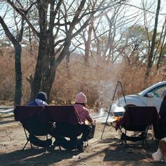 焚き火/キャンプ/フォロー大歓迎/風景/旅行/旅 榛名湖オートキャンプ場で デイキャンプし…