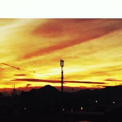 写真/夕景 風邪がようやく治ってきて、久々のウォーキ…