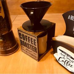 キャンディポット コーヒー豆バージョン/ペーパーフィルターケース/コーヒースタンド mayamayaさんから、教えていただい…