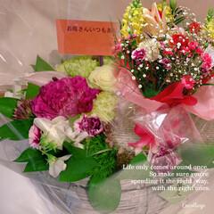 お花/母の日/ポートメッセなごや/エクステリア/ガーデン/LIMIAおでかけ部/... 今日は母の日でしたね、 娘達から、お花を…