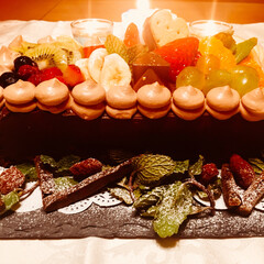 スイーツ/チョコレートケーキ/バレンタイン/フード/ハンドメイド バレンタインに向けてチョコレートケーキを…