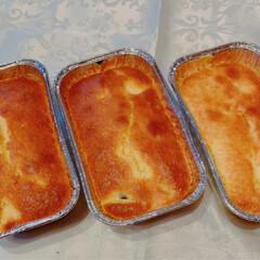 サツマイモ/シフォン型/ダイソー/焼きプリン/手作り/シフォンケーキ/... スイーツ3点作ってみました。 ☆おからパ…(4枚目)