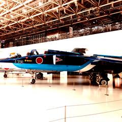 ブルーインパルス/飛行機 各務原の航空宇宙博物館で、飛行機✈️ヘリ…