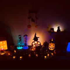 ペーパーナプキン/デコパージュ/かぼちゃ/ハロウィン/100均/ダイソー/... 今年のハロウィンは、なんとか、こんな感じ…