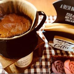 キャンディポット コーヒー豆バージョン/ペーパーフィルターケース/コーヒースタンド mayamayaさんから、教えていただい…(4枚目)