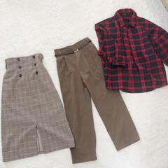 秋服/しまむら/ファッション/おすすめアイテム/フォロー大歓迎/朱色 しまむらで購入した秋服~(o^^o)  …