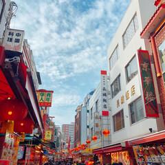 中華街/南京町/おでかけ/風景/グルメ/フード 日曜日は神戸南京町へ(o^▽^o)  人…