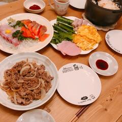 手巻き寿司パーティー/手巻き寿司/夜ご飯/暮らし/フォロー大歓迎 今日の夜ご飯は手巻き寿司~(❁´ω`❁)…