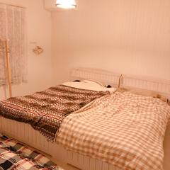 ベッド/寝室/住まい/暮らし/フォロー大歓迎 先週末、九州の両親と弟が遊びに来てくれま…