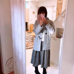 スカート/チェック柄/コート/冬支度/服/しまむら購入品/... 本日はしまパト行ってきました♪  しまむ…
