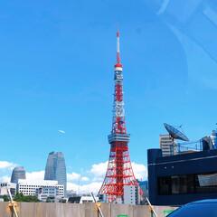 東京タワー/フォロー大歓迎/おでかけ/旅行/風景 夏休みの家族旅行ヽ(*^^*)ノ  車の…