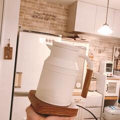 電気ポット/キッチン雑貨/キッチン/雑貨/おすすめアイテム/暮らし 我が家に新しくお迎えしたキッチン雑貨ヽ(…