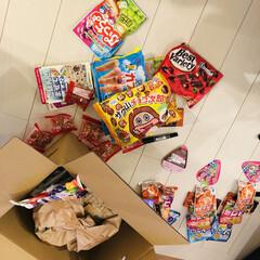 贈り物/荷物/春のフォト投稿キャンペーン/平成最後の一枚/フォロー大歓迎/住まい/... 九州の実家から、送られてきたお米にお菓子…