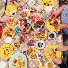 たこ焼き器/スイーツデコ/ベビーカステラ/子供/ホームパーティー/パーティー/... おうちで楽しむスイーツ♪ 娘の誕生日会*…