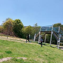 自然/公園/フォロー大歓迎/LIMIAおでかけ部/おでかけ/わたしのGW GWのお出かけ♪ 長男と次男を連れて公園…