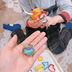 粘土遊び/粘土/ねんど/フォロー大歓迎/100均/ダイソー 4歳末っ子くんとねんど遊び♪ ダイソーの…
