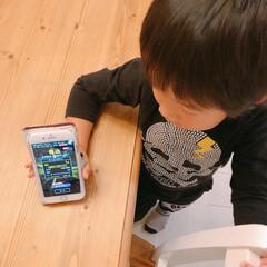 4歳/青鬼オンライン/青鬼/ゲーム/アプリ/スマホゲーム 末っ子くんがよくやるスマホゲームアプリの…