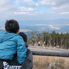 宮崎県/あけおめ/フォロー大歓迎/冬/風景 初詣の帰りに、車を停めて実家の市内を一望…
