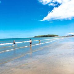 夏/夏休み/日南海岸/マリンブルー/海岸/空/... 夏休みに宮崎の青島と日南海岸へ行きました…