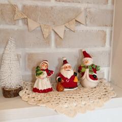 クリスマス雑貨/サリュ/雑貨/住まい/暮らし/フォロー大歓迎 サリュにて陶器で出来たクリスマスオーナメ…