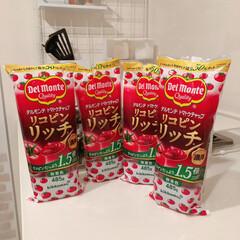 トマトケチャップ/ケチャップ/フォロー大歓迎/グルメ/フード/キッチン/... 我が家のケチャップはデルモンテのリコピン…