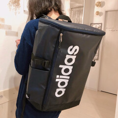 通学リュック/adidas/アディダス/リュック/フォロー大歓迎/雑貨/... 中学入学に備えて娘の通学リュック購入~♪…